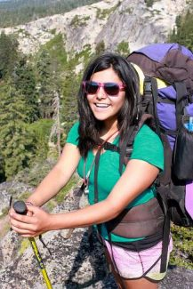 Alondra Chavez found her wings with Adventure Risk Challenge.