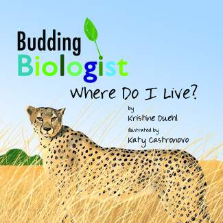 Katy Castronovo illustrates the Budding Biologist series, created by Dr. Kristine Duehl to provide young readers with accurate information.