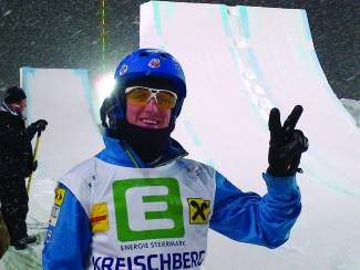 Scotty Bahrke of Tahoe City was named to the 2014 U.S. Freestyle Ski Team.