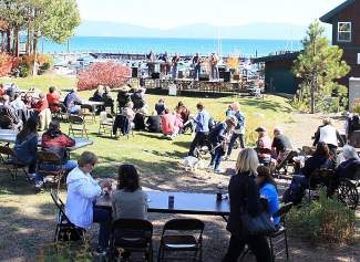 The inaugural Tahoe City Grill Fest was held at the Tahoe City Marina and Boatworks Mall green.