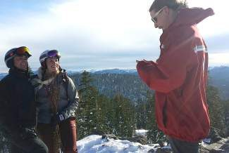 An impromptu wedding on Northstar's slopes no problem for mountain team.