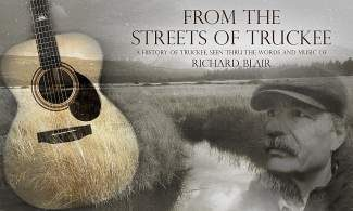 Local musician Richard Blair portrays Truckee's history through song on CD.
