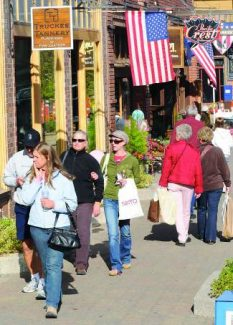 Participation for vendors and sponsorships are available for the Downtown Truckee Wine, Walk & Shop.