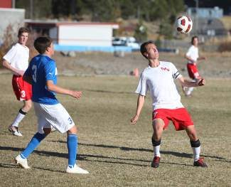Truckee junior Thomas Arnstein competes in a game last week. The Wolverines will enter the regional tournament as a No. 1 seed.