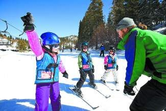 This winter, Diamond Peak is adding small terrain features to its beginner lessons to better prepare children for advvanced skiing and riding.