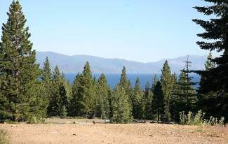 Pictured is the view from upper bench, near the first tee box at the North Tahoe Regional Park disc golf course. The site is favored by North Tahoe Public Utility District staff for a new off-leash dog park.