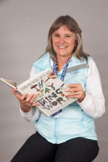 Eileen Fahrner likes to cozy up with a good book or newspaper.