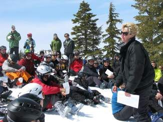 Find a message on the mountain with Tahoe Resort Ministries ski area Easter services on Sunday, April 20.
