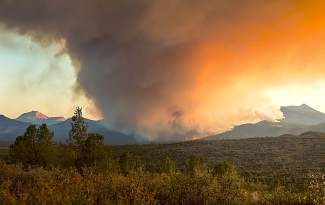 As of midday Thursday, the Eiler Fire had scorched more than 32,000 acres and was 85 percent contained.