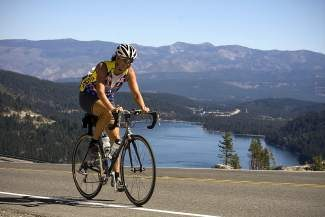 Scenic routes in the Tahoe Truckee area highlight the Tahoe Sierra Century rides.