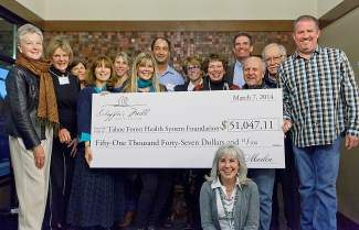 HGTV Dream Home tour ticket sales raised proceeds to benefit Tahoe Forest Health System Foundation.