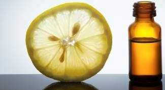 Lemon oil is a refreshing cleansing agent and might even brush the cobwebs from your mind.