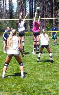 Peak Volleyball Camps serve up skills, drills and the latest game-winning technology.