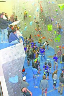 High Altitude Fitness recently held a successful climbing competition showcasing a handful of talented local youth climbers.
