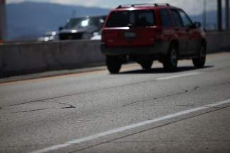 NDOT will replace the cracked and deteriorated roadway on southbound I-580 next summer.