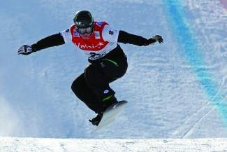 Squaw Valley Olympian Nate Holland earned a bronze medal in the X Games snowboardcross finals in January.