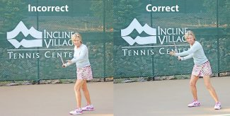 Serena Quarelli emphasizes the dos and dont's of proper tennis footwork.