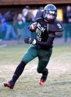 Incline sophomore Owen Graffis rushed for 111 yards and a touchdown on 10 carries at West Wendover.