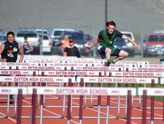 Incline sophomore Matt Colby set personal records in three different events at the Carson Invite.