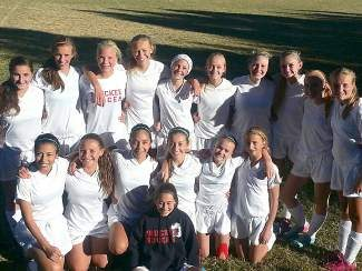The Truckee girls JV soccer team ended its undefeated season with a 12-0 win over Fallon on Monday. The Wolverines scored 99 goals on the year.