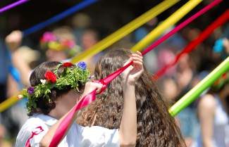 Do the May pole dance at Kindred's Inspired Adventure Spring Festival May 17 in Truckee.