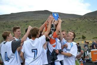North Tahoe Lacrosse players celebrate their league championship in 2013 after finishing 13-0. North Tahoe Lacrosse is currently accepting registration for the fall season.