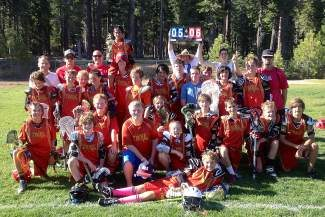 The Truckee Tribe U13 lacrosse team defeated the Mt. Rose Rattlers 6-5 for the High Sierra Lacrosse League championship this past Saturday.