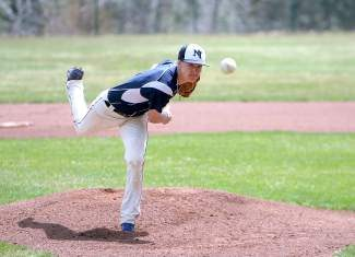North Tahoe senior Wildon DesLauriers struck out 11 in five innings of the Lakers' 10-0 win over West Wendover on Saturday.