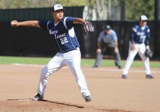 North Tahoe junior Mitchell Myers shut out host Silver Stage as his Lakers rolled to a 10-0 win Tuesday.