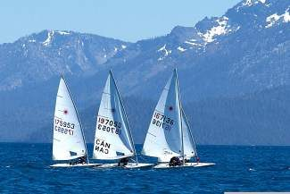 The opening Monday Night Laser race kicked off the season this week.