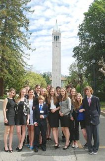 Squaw Valley Preparatory students take part in the Model United Nations event, learning about diplomacy and historic global events.