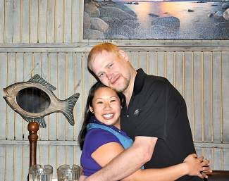Newlyweds Kenda Wong and Ethan Bolinger discovered their love for sea travel when they wed on an Alaskan cruise in 2012.