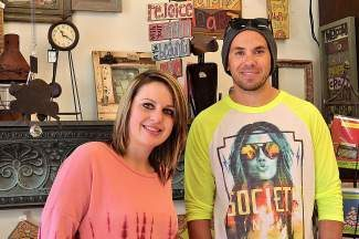 Assistant store manager Korinna Brock and store co-owner Danny Manguso agree that the new location in the Gateway Shopping Center is a better fit for The Niche.