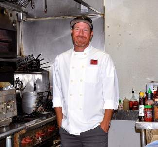 Chef and owner Greb Erb bought Frederick's in 2007 and decided to keep the bistro's name.