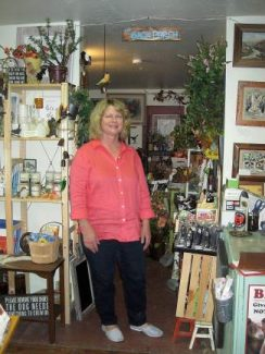 Barbara Van Maren turned her hobby of wreath making into a decorative business and store.