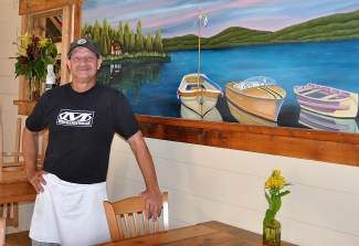 With a remodeled interior and a revamped menu, Jonny is excited to be back in Tahoe City.