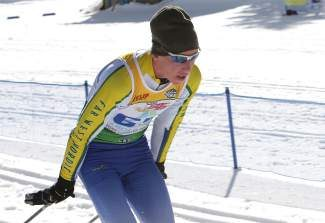 North Tahoe senior Peter Holmes, shown competing in the SuperTour last spring, was awarded the 2014 Ted Beauchamp Scholarship.