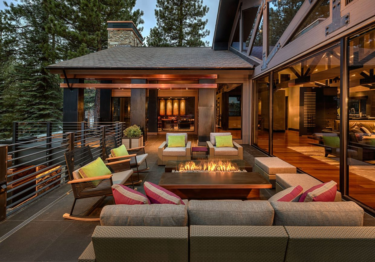 Outside Living Space lake tahoe home: embrace style with your outdoor living spaces
