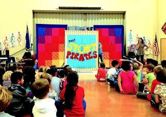 According to the school, bringing Story Pirates to Incline Elementary is part of a larger literacy program being launched this year as a school-wide initiative to improve all students' proficiency in reading and writing.