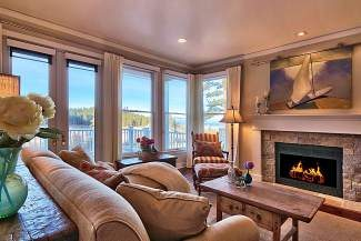 A Glenbrook condo that sold for $2.5 million comes with this Tahoe view.