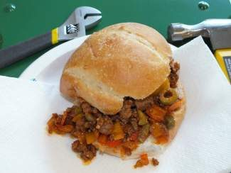 This Father's Day, let him get down and dirty with a Cuban-inspired Sloppy Joe.
