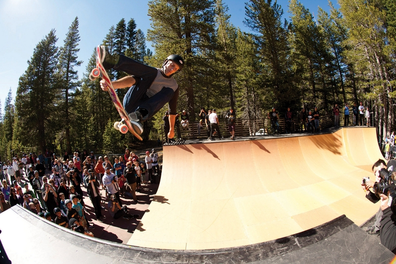 Top Athletes Celebrate Woodward Tahoeand 8217 S Grand Opening