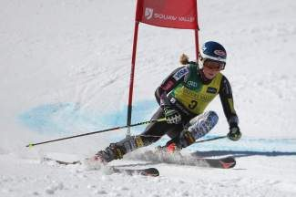 Mikaela Shiffrin, shown in the 2013 U.S. Alpine Championships at Squaw Valley, recorded a pair of podium finishes in slalom and GS this past weekend.