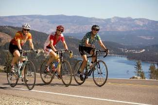 The annual Tahoe Sierra Century Ride, scheduled for Saturday, Sept. 14, benefits North Tahoe's middle and high school music programs.