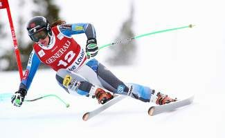 Truckee's Stacey Cook was among the three American women who swept the downhill podium in Lake Louise last weekend, joining Lindsey Vonn and Julia Mancuso. The hot start was just what the women's speed team needed after a down season in 2013-14.