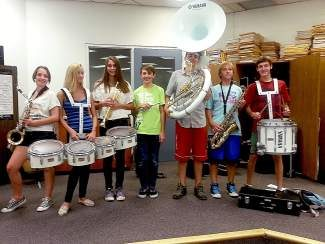 Get your car squeaky clean Sept. 1 and support the Truckee High School band students.