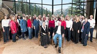 The Truckee Tahoe Community Chorus is comprised of more than 60 community members.