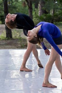 "Festival creators Christin Hanna and Constantine Baecher in ""Second Journey"" at last year's Lake Tahoe Dance Festival."