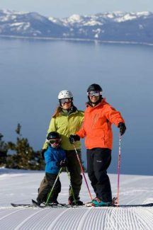 Staying protected from the Tahoe sun is important while out on the slopes this winter.
