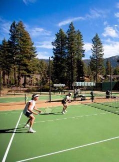 Register for various events at the Incline Tennis Center to improve your game, stay in shape, and have some fun.